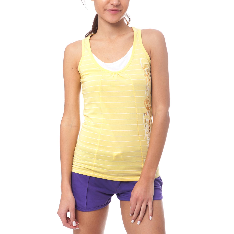 GAMBLING - Γυναικεία μπλούζα Gambling κίτρινη γυναικεία ρούχα μπλούζες αμάνικες