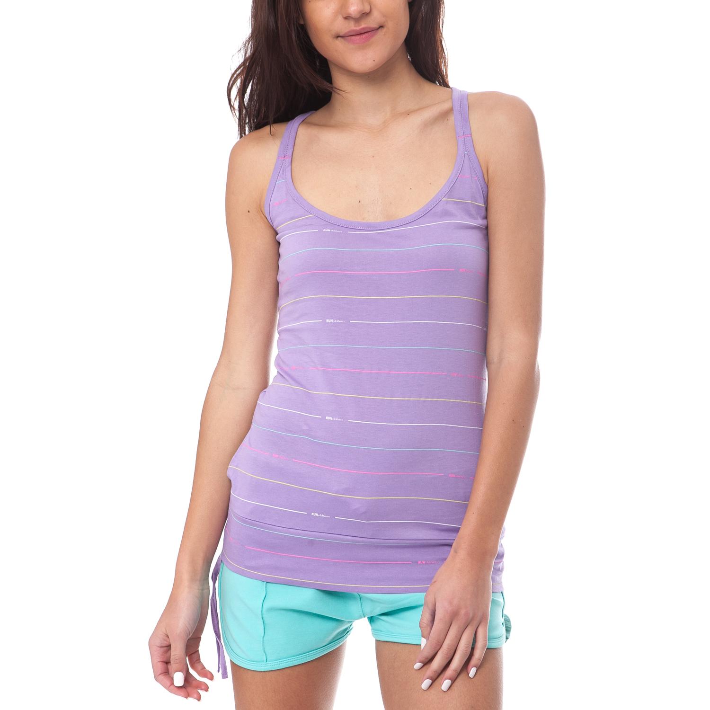 GAMBLING - Γυναικεία μπλούζα Gambling μωβ γυναικεία ρούχα μπλούζες αμάνικες