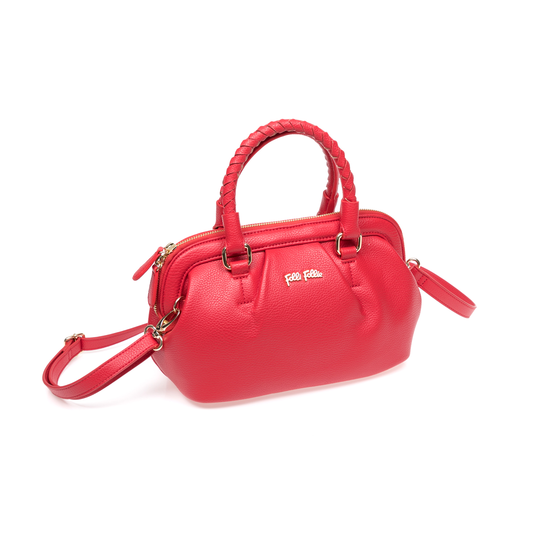 FOLLI FOLLIE - Γυναικεία τσάντα Folli Follie κόκκινη γυναικεία αξεσουάρ τσάντες σακίδια χειρός