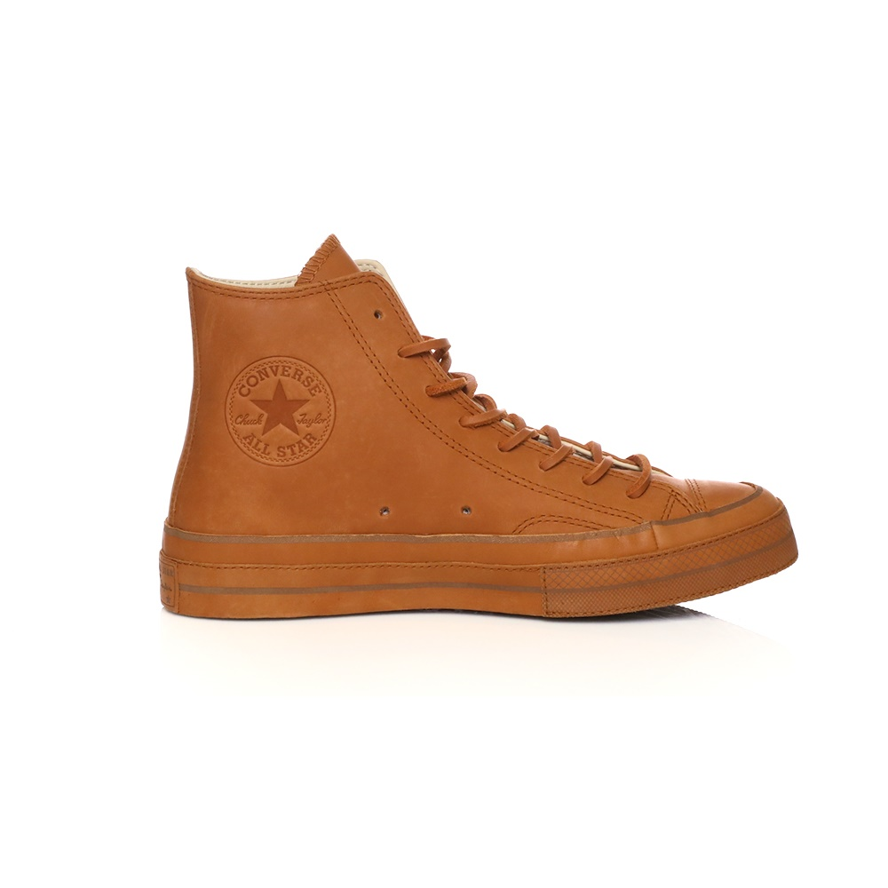 CONVERSE – Unisex παπούτσια CONVERSE QS CTAS '70 BRUTALIST HI καφέ