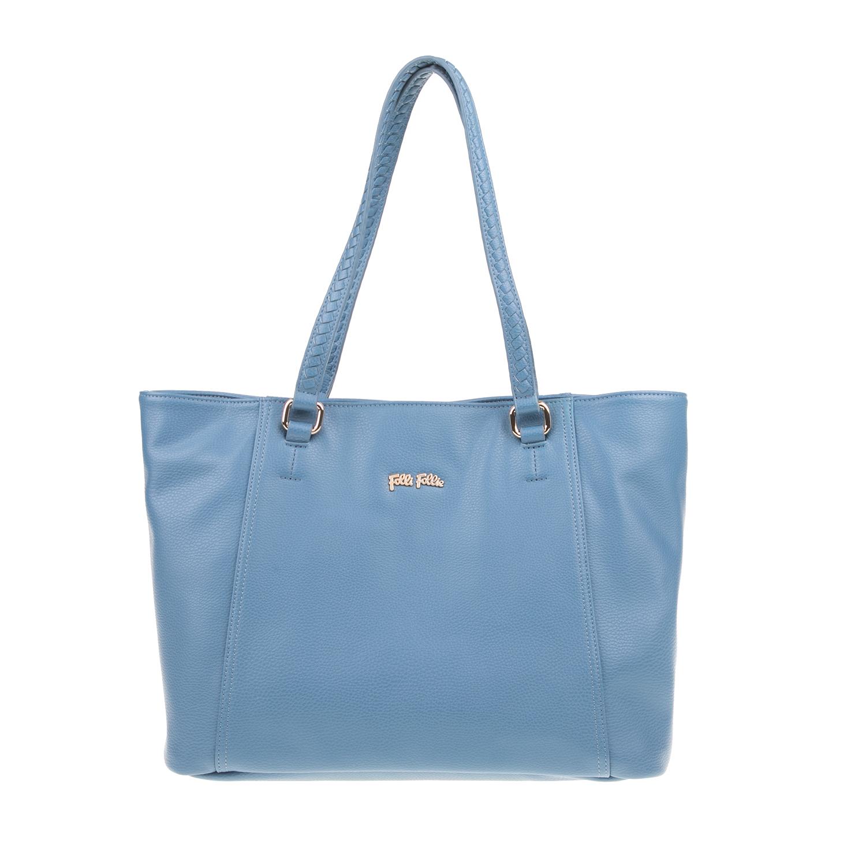 888818b349 FOLLI FOLLIE – Γυναικεία τσάντα ώμου Folli Follie μπλε. Factory Outlet