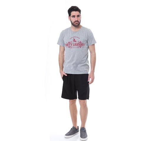 DIRTY LAUNDRY-Ανδρική μπλούζα Dirty Laundry γκρι