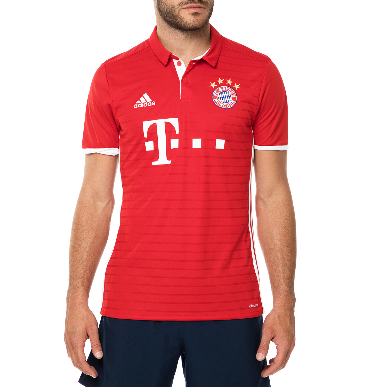 adidas - Ανδρική κοντομάνικη μπλούζα ποδοσφαίρου adidas FCB BAYERN MUNCHEN κόκκι ανδρικά ρούχα αθλητικά t shirt
