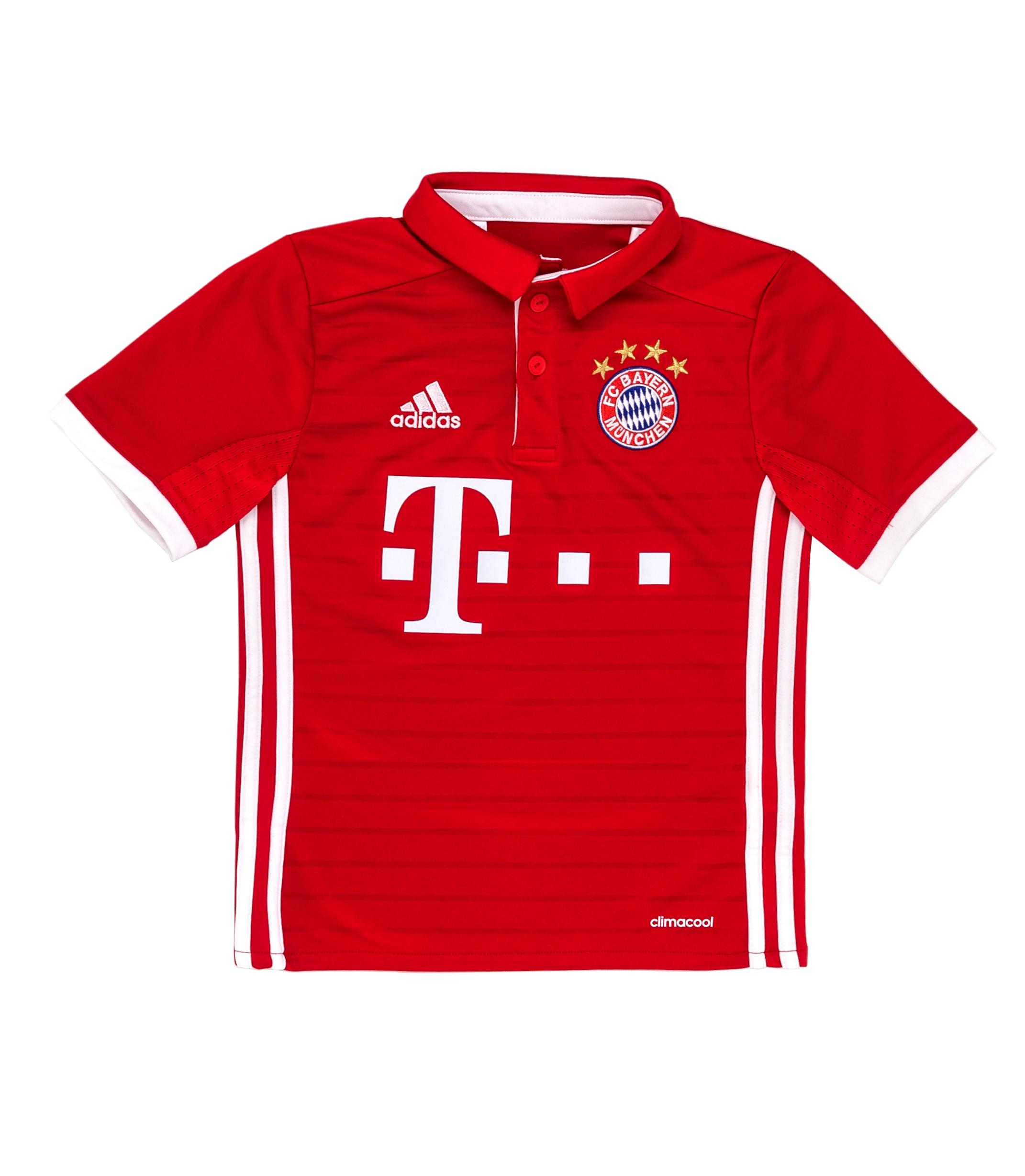 adidas – Παιδική ποδοσφαιρική μπλούζα adidas FCB κόκκινη