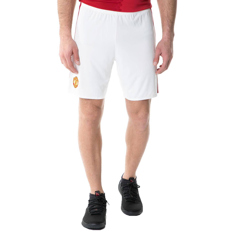 adidas - Ανδρικό σορτς adidas MUFC H SHO FOOTBALL/SOCCER λευκό ανδρικά ρούχα σορτς βερμούδες αθλητικά