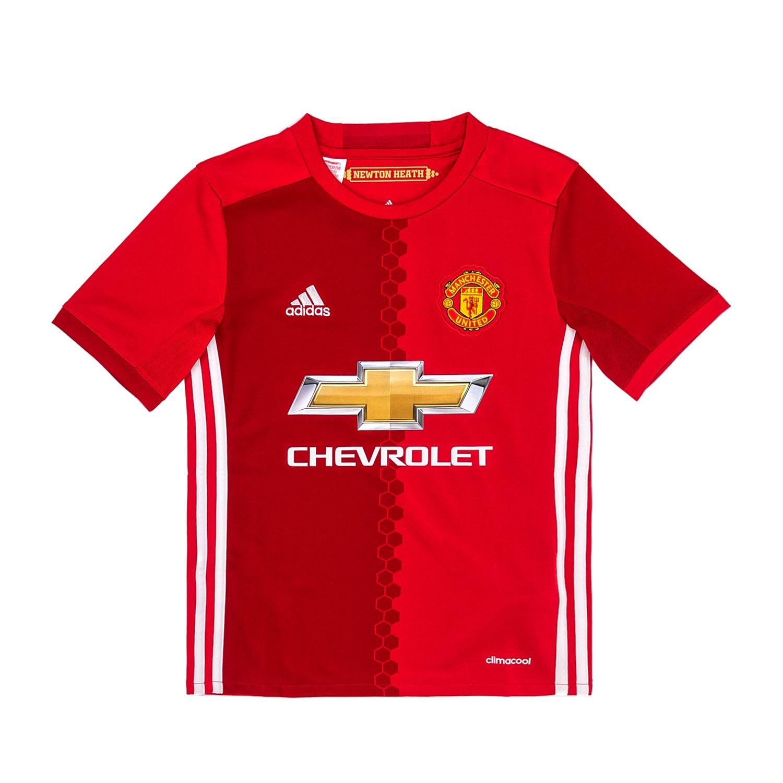 adidas – Παιδική ποδοσφαιρική μπλούζα adidas Manchester United κόκκινη