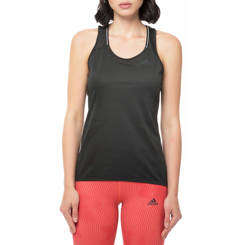 adidas - Γυναικείο αθλητικό φανελάκι adidas RUNNING μαύρο γυναικεία ρούχα αθλητικά t shirt τοπ