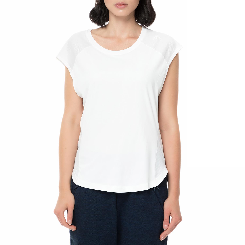 557924cb48a8 adidas - Γυναικείο αθλητικό t-shirt adidas SHODO SS TEE RUNNING λευκό