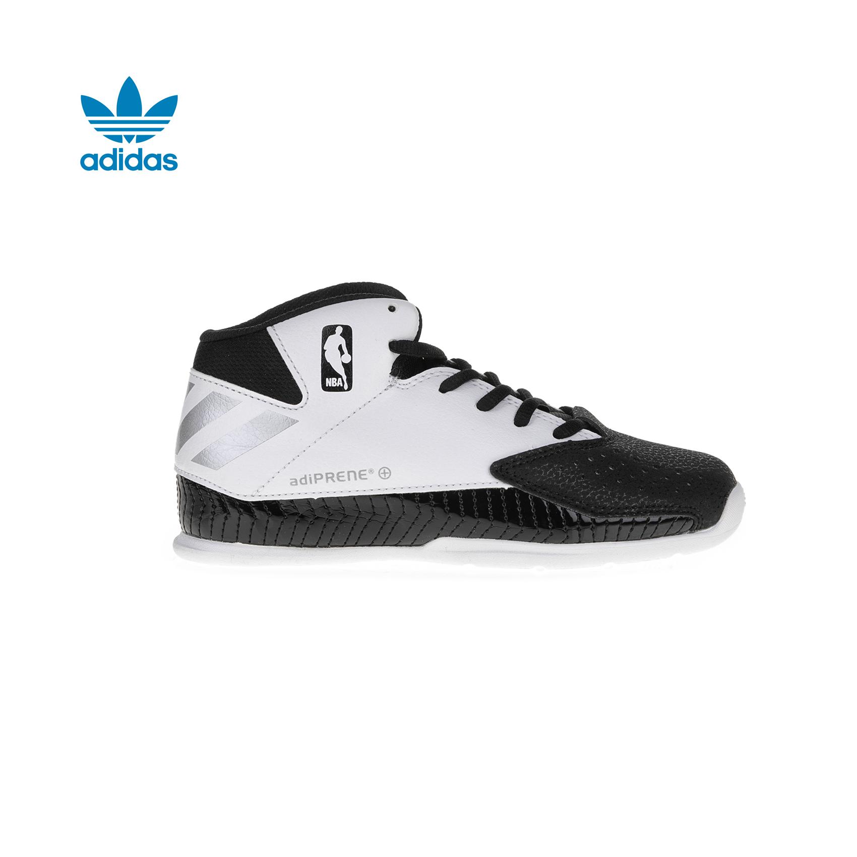 adidas Originals – Παιδικά παπούτσια adidas Nxt Lvl Spd V NBA λευκά-μαύρα