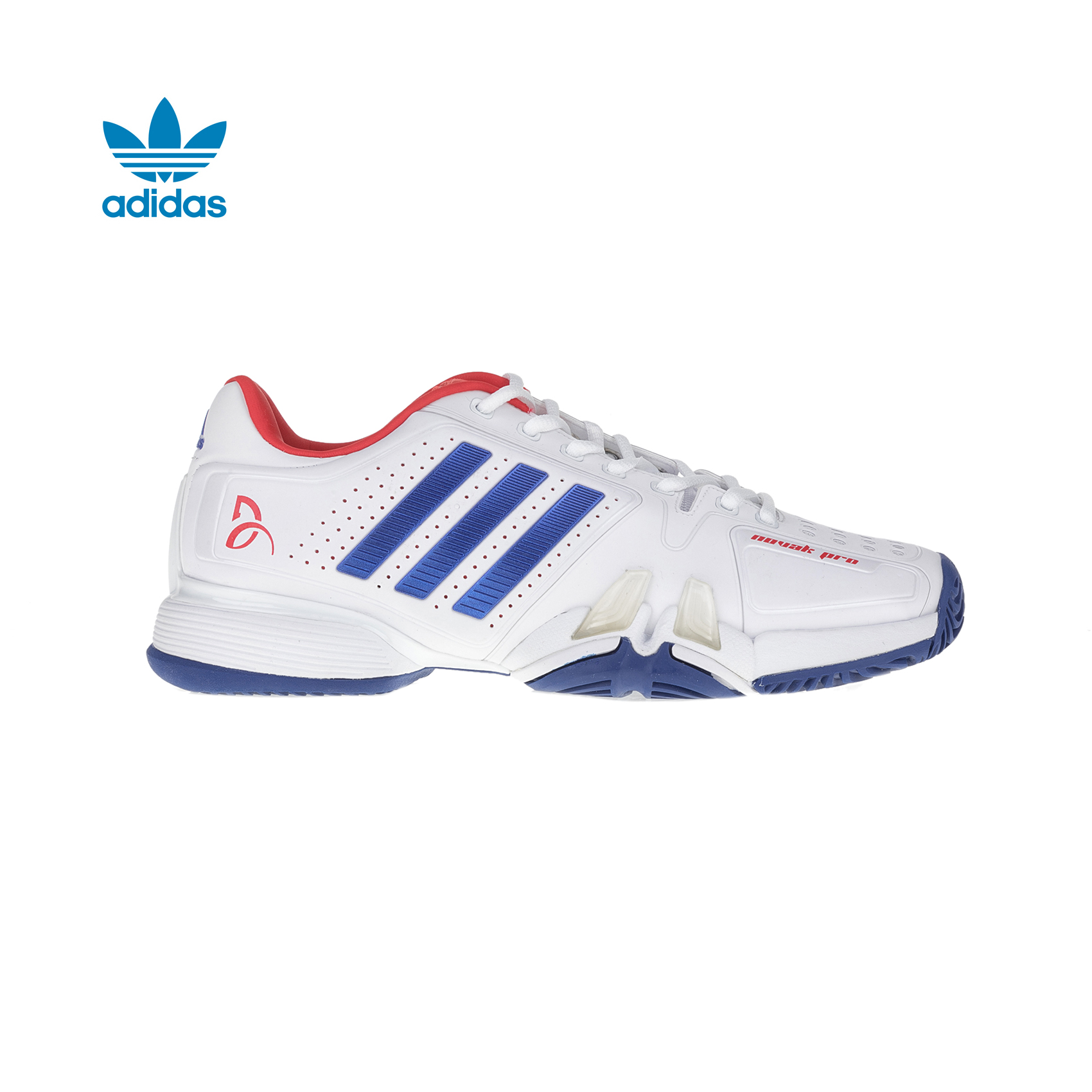 adidas Originals – Ανδρικά παούτσια τένις adidas novak pro λευκά