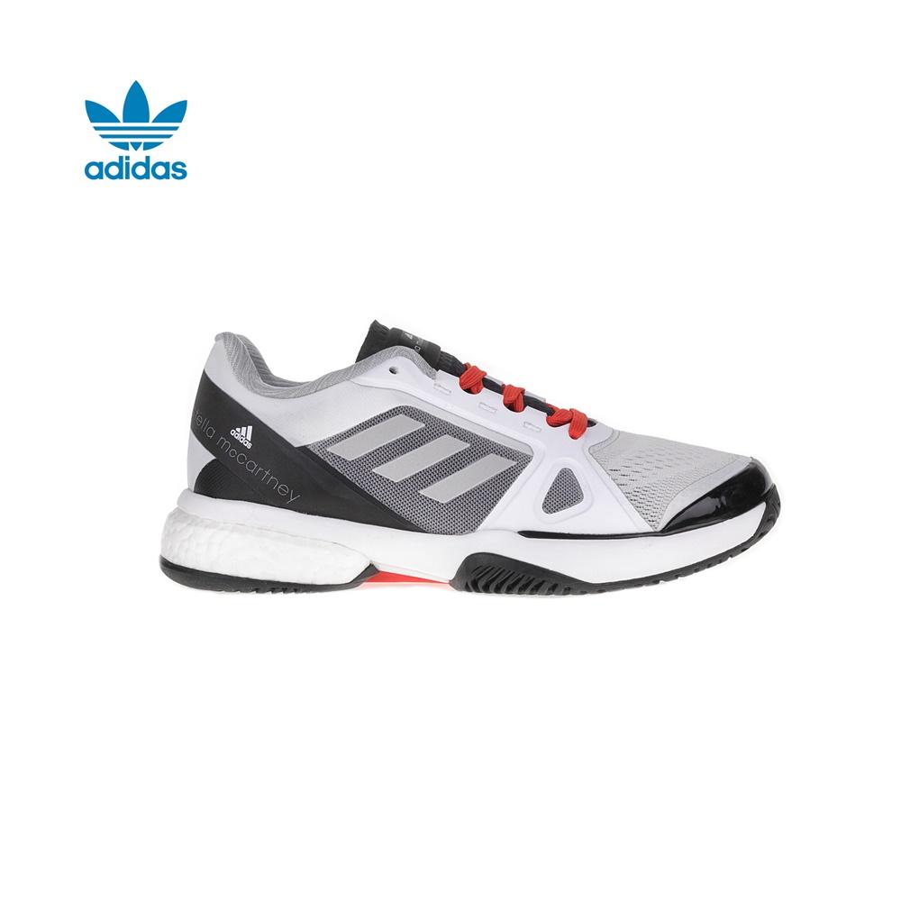 adidas Originals - Γυναικεία παπούτσια τένις adidas Barricade Boost 2017 λευκά γυναικεία παπούτσια αθλητικά tennis