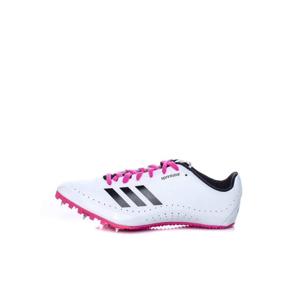adidas Performance – Γυναικεία Distancerstar Spikes λευκά