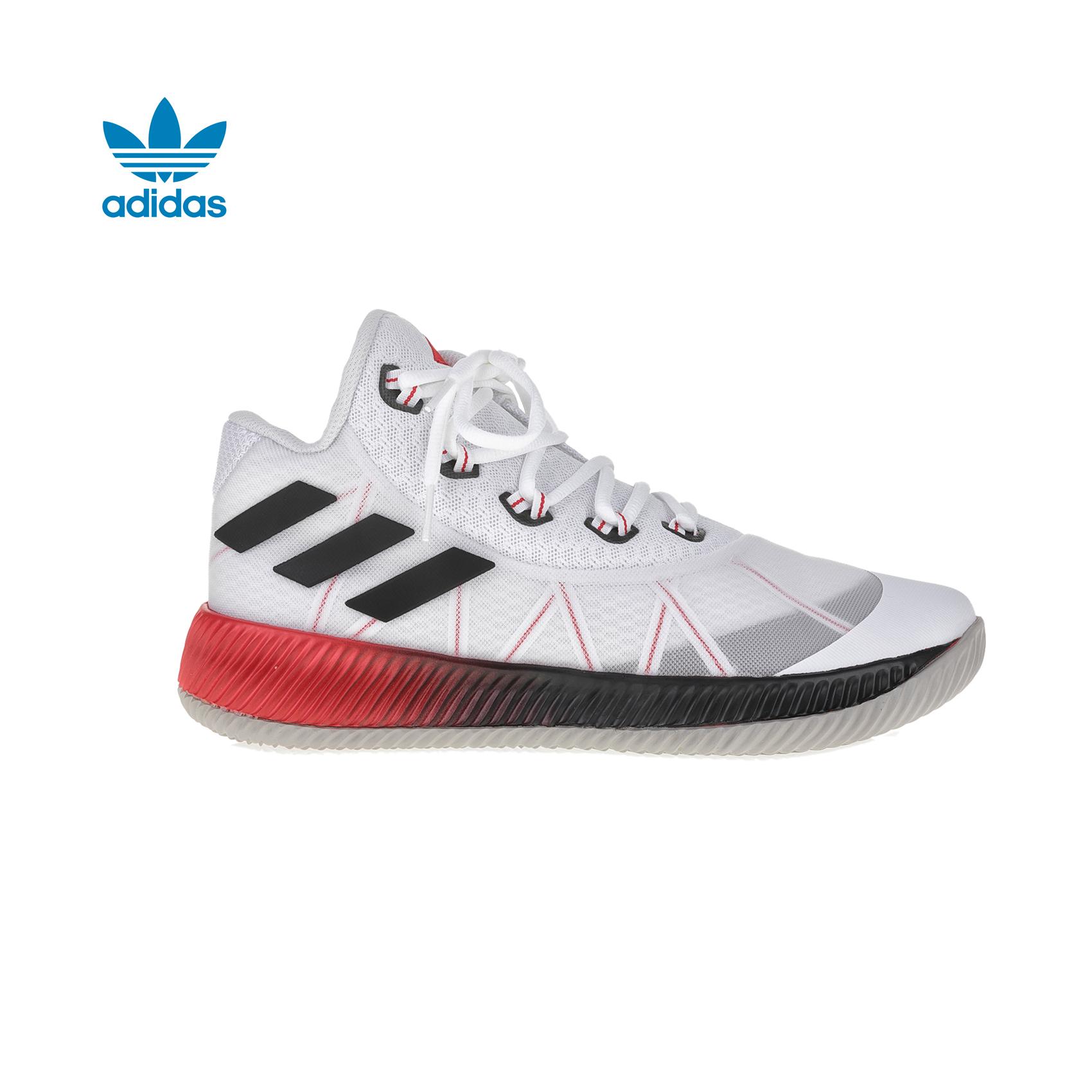 adidas Originals - Ανδρικά παπούτσια μπάσκετ adidas Light Em Up 2017 λευκά ανδρικά παπούτσια αθλητικά basketball
