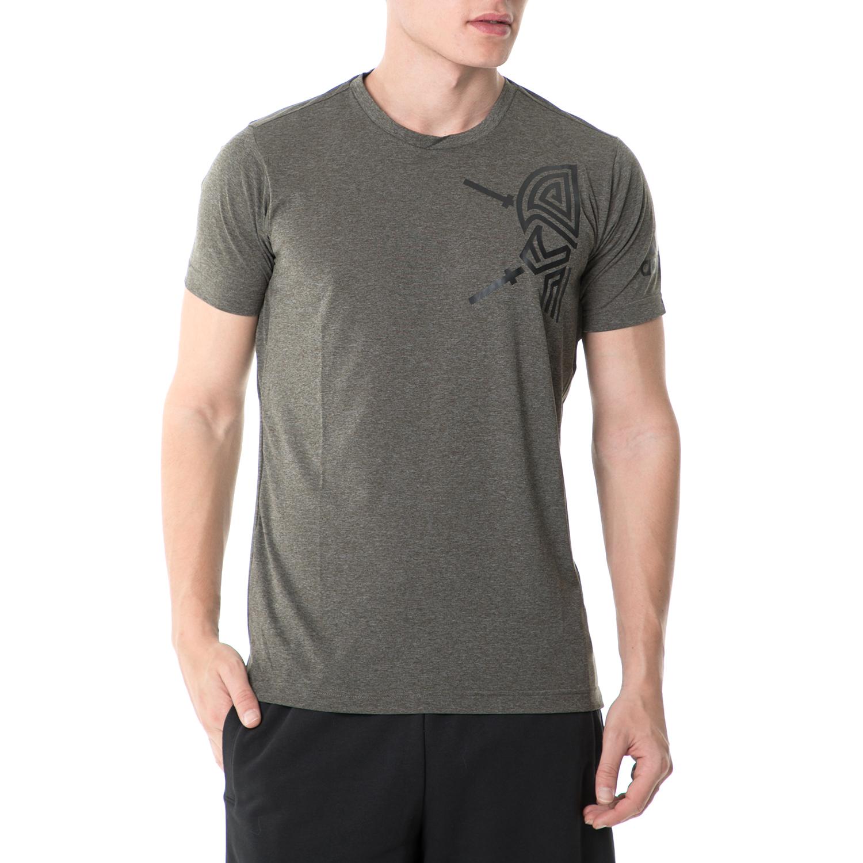 adidas - Ανδρική κοντομάνικη μπλούζα adidas LIFTE TRAINING γκρι ανδρικά ρούχα αθλητικά t shirt