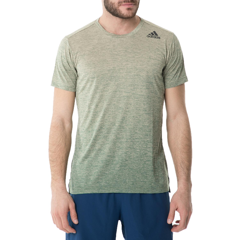 adidas - Ανδρική κοντομάνικη μπλούζα adidas GRADIENT TEE TRAINING πράσινη ανδρικά ρούχα αθλητικά t shirt