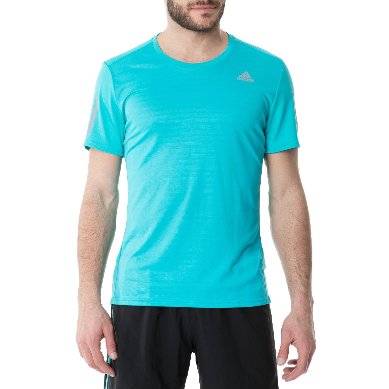 adidas - Ανδρική κοντομάνικη μπλούζα adidas RS RUNNING γαλάζια ανδρικά ρούχα αθλητικά t shirt
