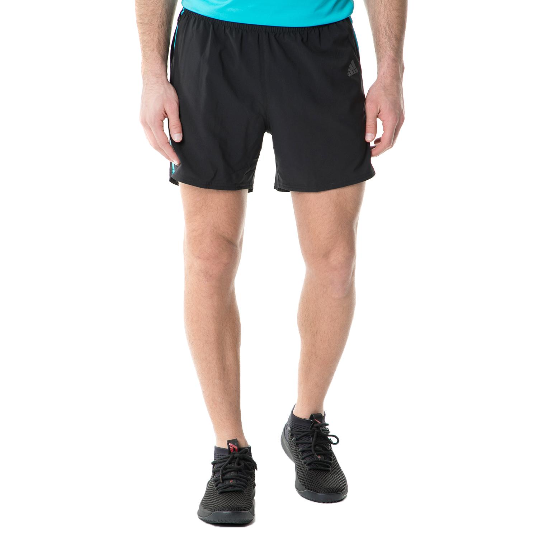 adidas - Ανδρικό αθλητικό σορτς RS SHORT RUNNING μαύρο ανδρικά ρούχα σορτς βερμούδες αθλητικά
