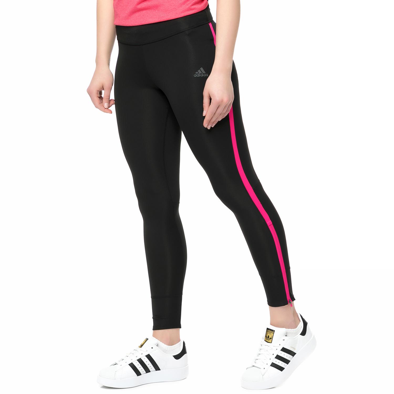 09ee666a0f7 adidas - Γυναικείο μακρύ κολάν RS LNG TIGHT RUNNING μαύρο-ροζ ...