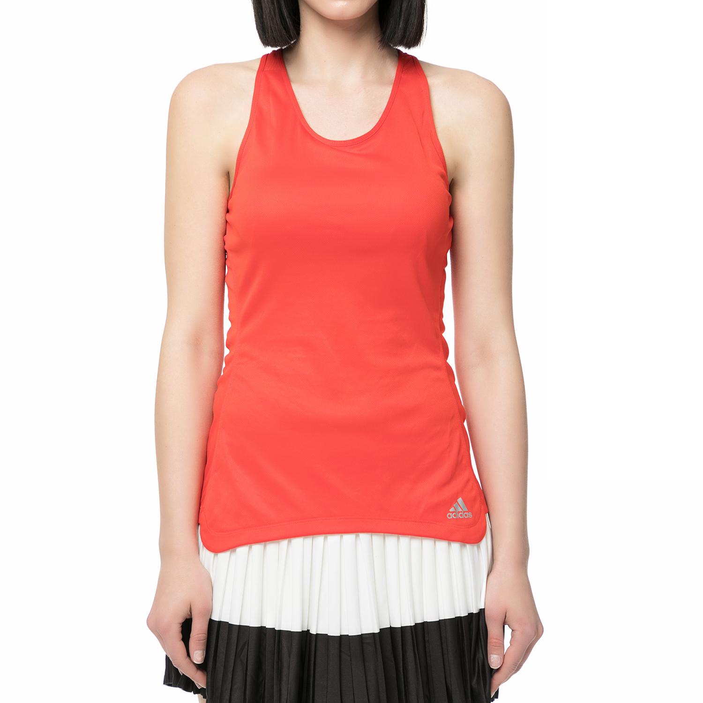 adidas performance - Γυναικεία αμάνικη μπλούζα running RESPONSE CUP κόκκινη γυναικεία ρούχα αθλητικά t shirt τοπ