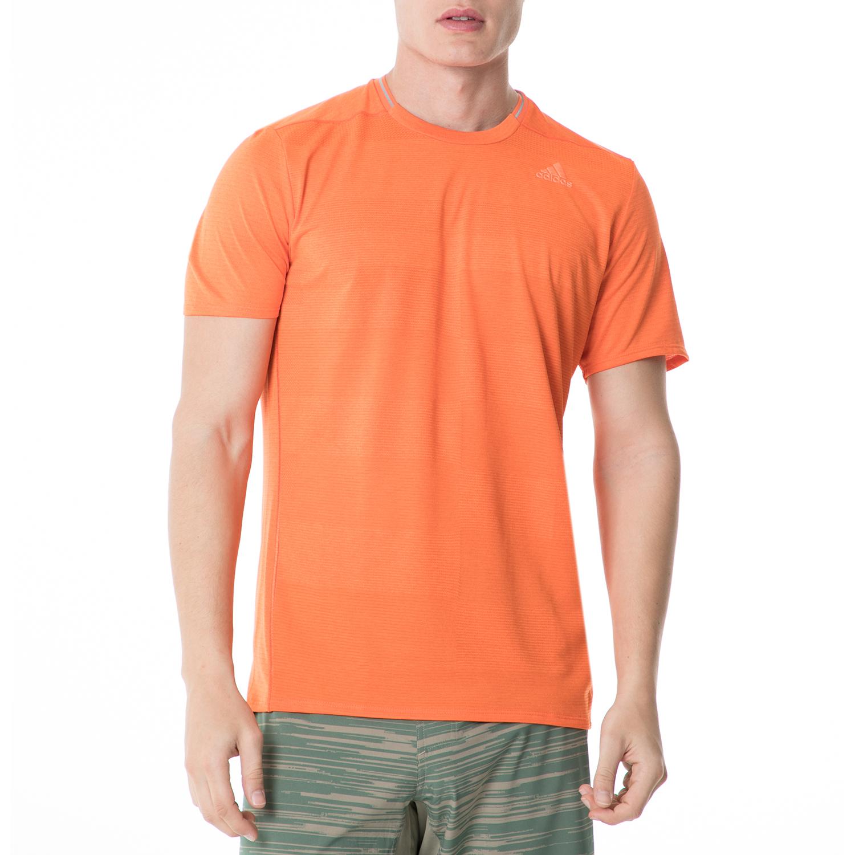 adidas - Ανδρική κοντομάνικη μπλούζα adidas SN S-S RUNNING πορτοκαλί ανδρικά ρούχα αθλητικά t shirt