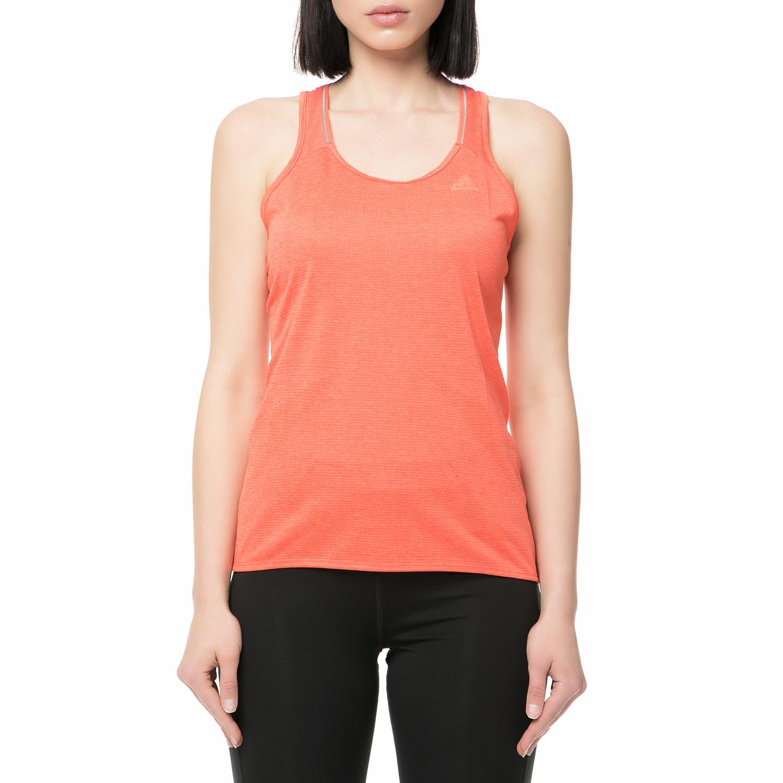 adidas performance - Γυναικεία αμάνικη μπλούζα running Supernova πορτοκαλί γυναικεία ρούχα αθλητικά t shirt τοπ
