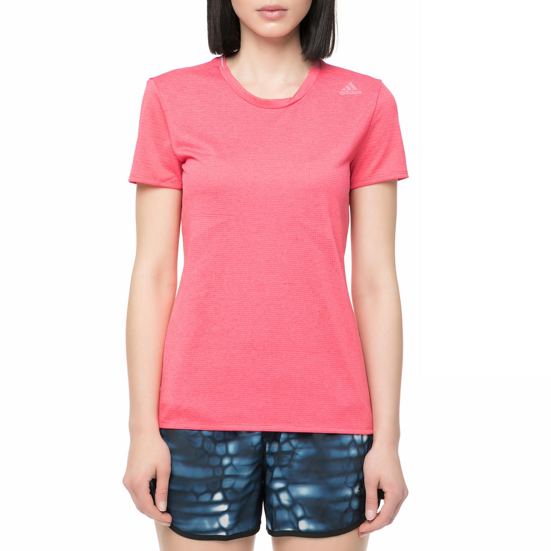 adidas performance - Γυναικείο t-shirt για τρέξιμο Supernova ροζ γυναικεία ρούχα αθλητικά t shirt τοπ