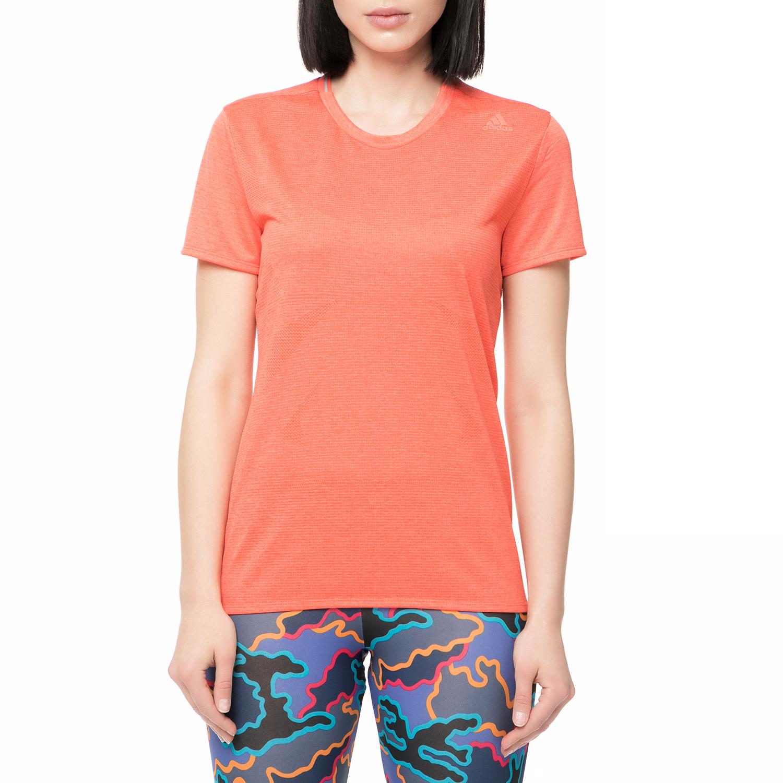 adidas performance - Γυναικείο t-shirt για τρέξιμο Supernova πορτοκαλί γυναικεία ρούχα αθλητικά t shirt τοπ