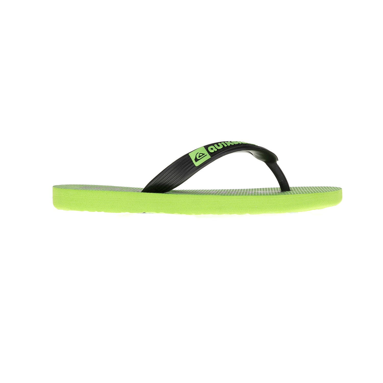 QUIKSILVER - Παιδικές σαγιονάρες QUIKSILVER πράσινες παιδικά boys παπούτσια σαγιονάρες