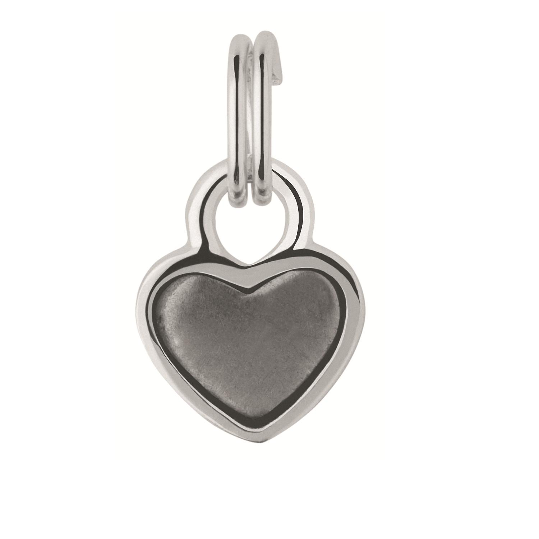 LINKS OF LONDON - Ασημένιο charm Links of London Keepsakes Mini Heart Tin Charm γυναικεία αξεσουάρ κοσμήματα παντατίφ
