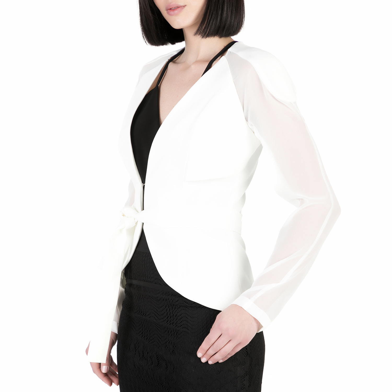 4fc5600e680e YVONNE BOSNJAK - Γυναικείο σακάκι Yvonne Bosnjak λευκό, ΓΥΝΑΙΚΑ | ΡΟΥΧΑ |  ΠΑΝΩΦΟΡΙΑ | ΣΑΚΑΚΙΑ