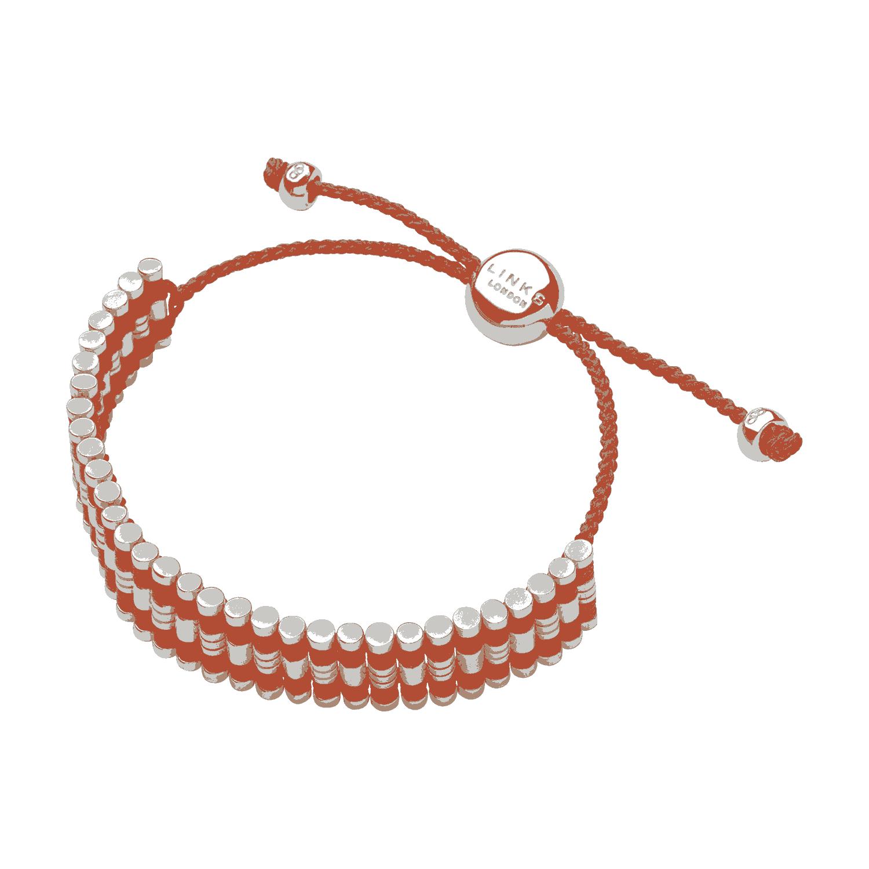 LINKS OF LONDON - Ασημένιο βραχιόλι Links of London Center Grove Friendship γυναικεία αξεσουάρ κοσμήματα βραχιόλια