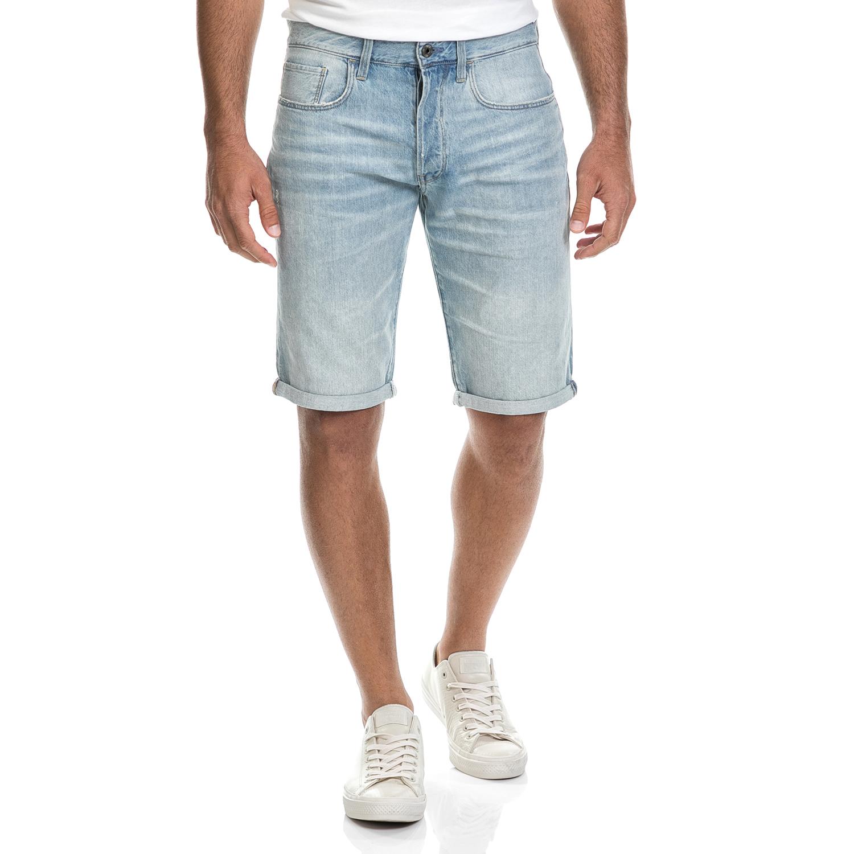 G-STAR - Ανδρική βερμούδα G-STAR RAW μπλε ανδρικά ρούχα σορτς βερμούδες casual jean