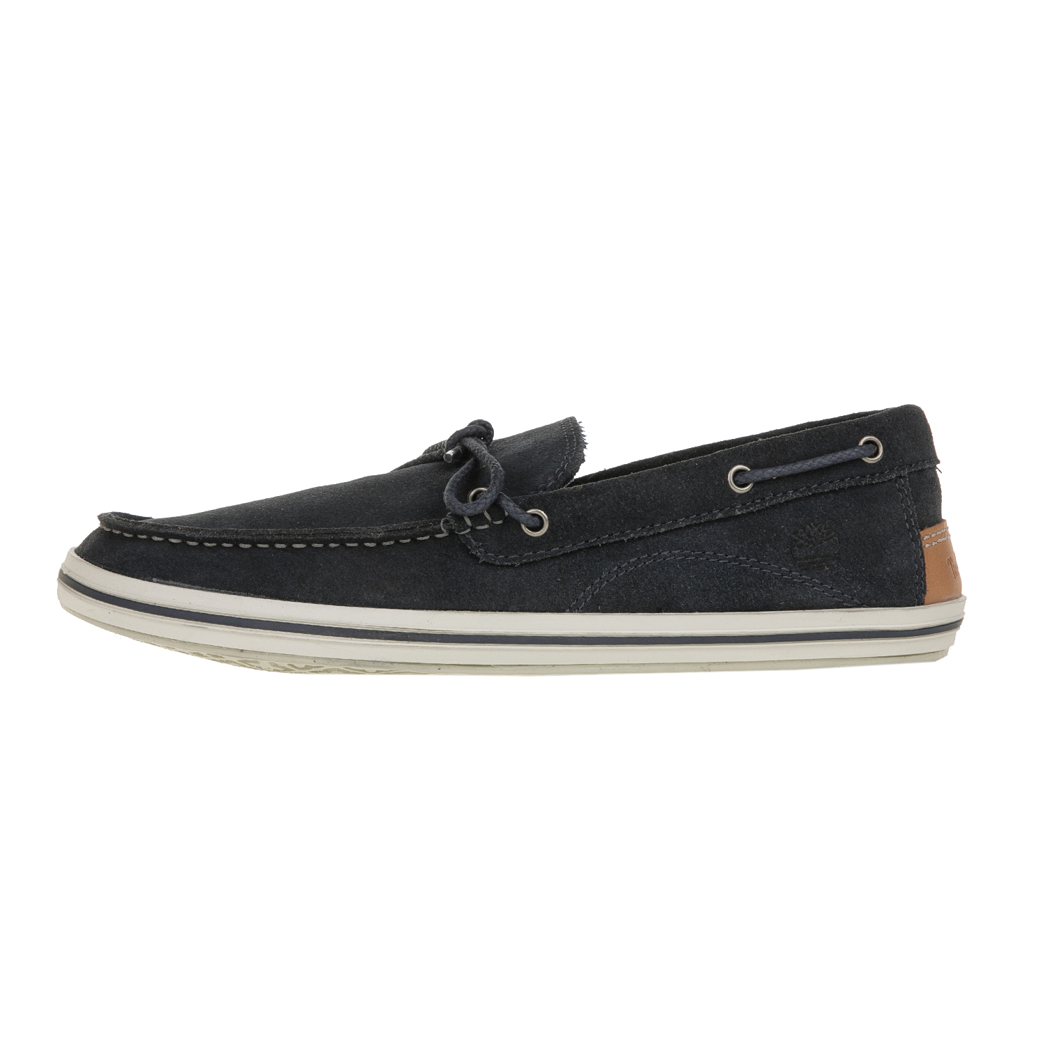 TIMBERLAND - Ανδρικά δερμάτινα boat shoes TIMBERLAND μπλε σκούρα ανδρικά παπούτσια boat shoes