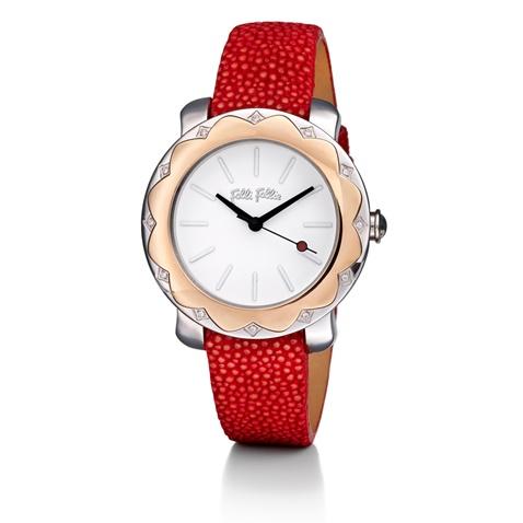 ec6080963d Γυναικείο ρολόι FOLLI FOLLIE JASMINE κόκκινο (1586317.0-0041 ...