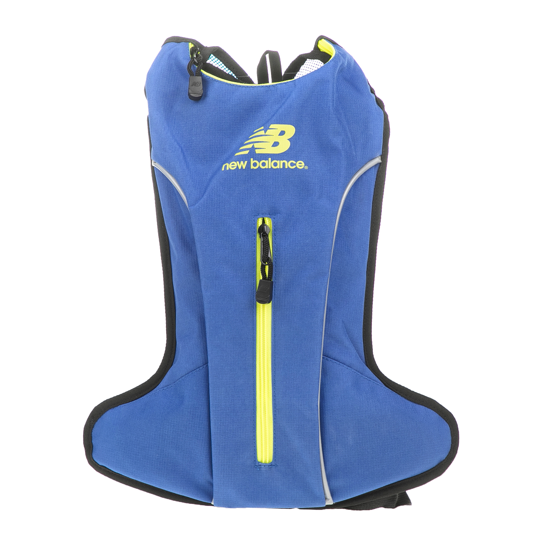 NEW BALANCE - Σακίδιο πλάτης για τρέξιμο New Balnace HYDRO μπλε ανδρικά αξεσουάρ τσάντες σακίδια αθλητικές