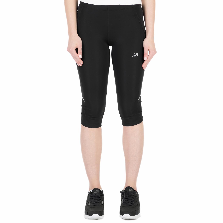 NEW BALANCE - Γυναικείο κάπρι κολάν New Balance ACCELERATE μαύρο γυναικεία ρούχα αθλητικά κολάν