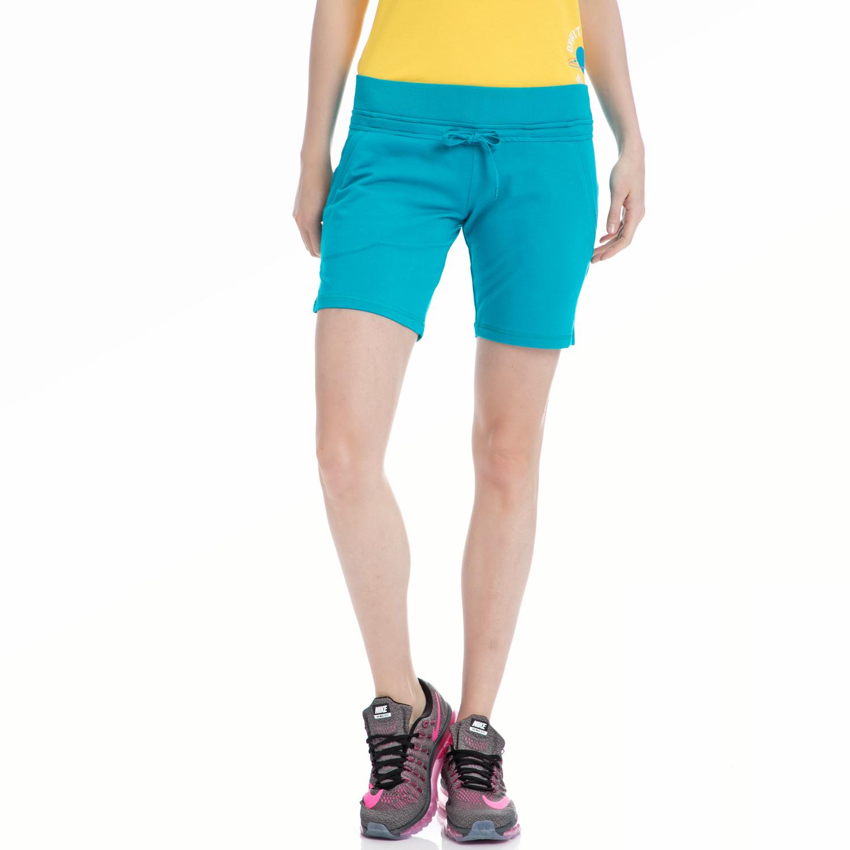 BODY TALK - Γυναικείο σορτς BODYTALK μπλε γυναικεία ρούχα σορτς βερμούδες αθλητικά