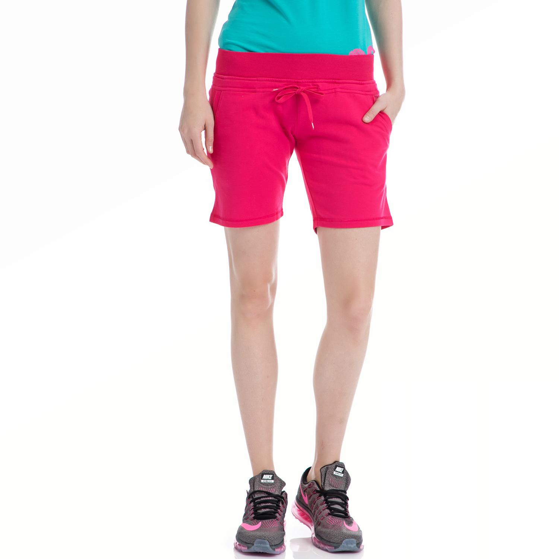 BODY TALK - Γυναικείο σορτς BODYTALK φούξια γυναικεία ρούχα σορτς βερμούδες αθλητικά