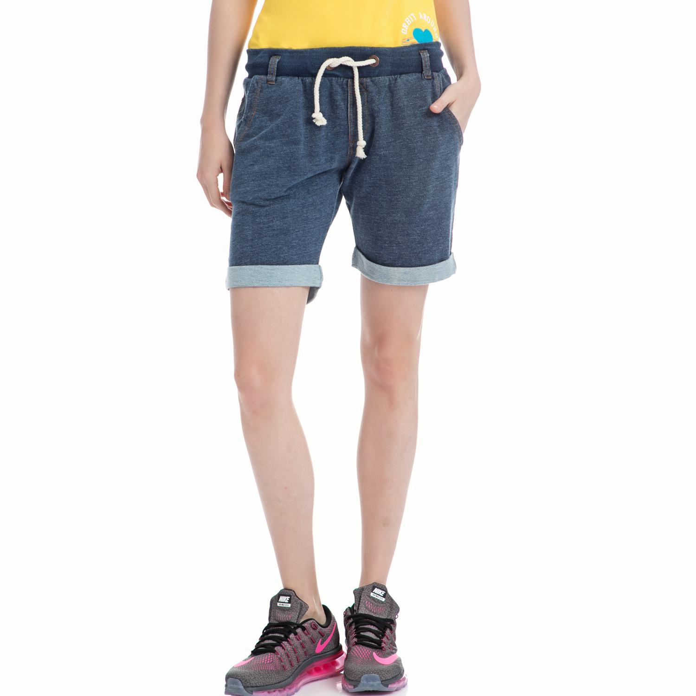 BODYTALK - Γυναικεία βερμούδα BODYTALK μπλε γυναικεία ρούχα σορτς βερμούδες αθλητικά