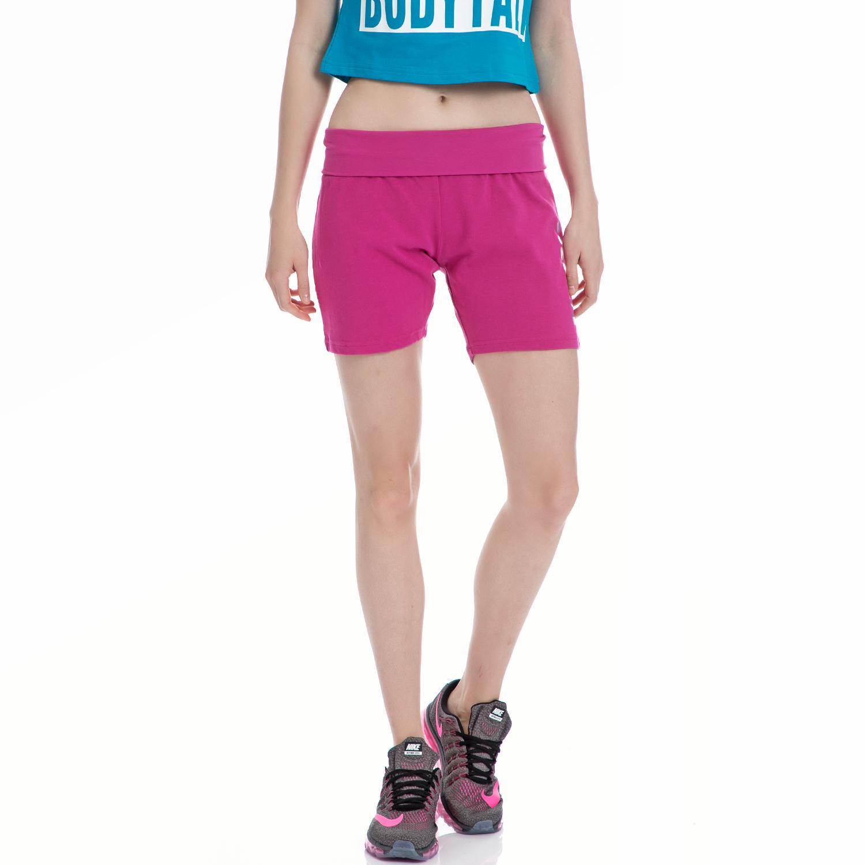 BODYTALK - Γυναικείο σορτς BODYTALK φούξια-μωβ γυναικεία ρούχα σορτς βερμούδες αθλητικά