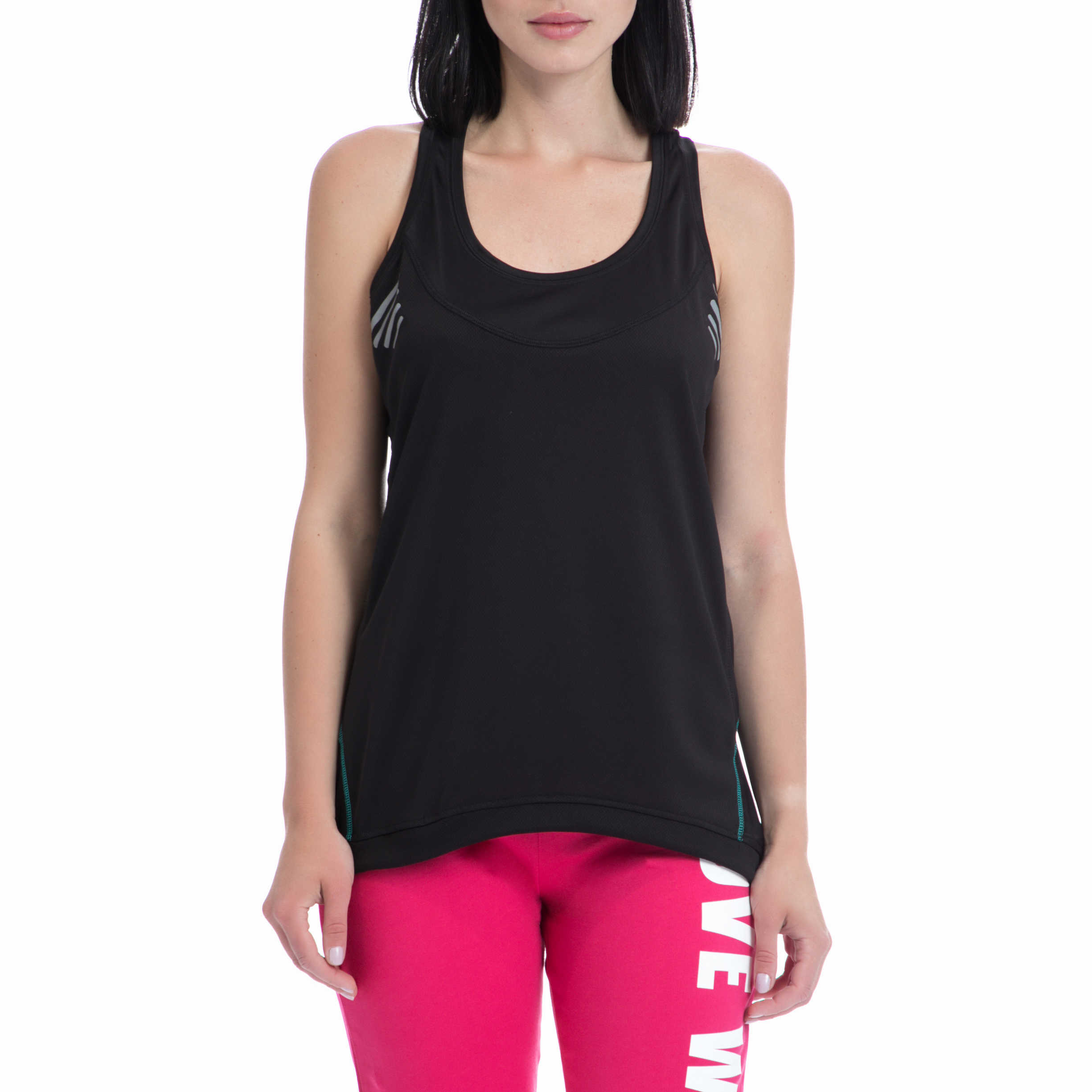 BODYTALK - Γυναικεία αμάνικη μπλούζα BODYTALK μαύρη γυναικεία ρούχα αθλητικά t shirt τοπ