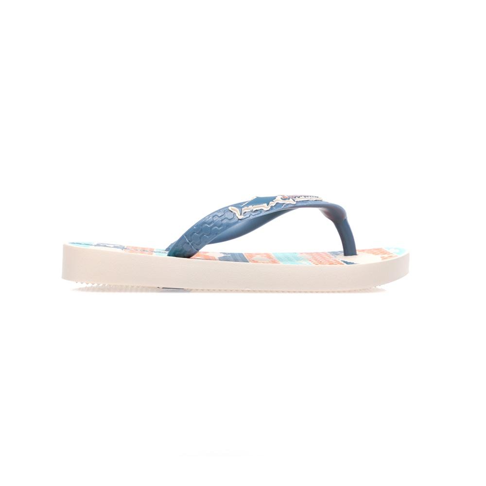 IPANEMA - Παιδικές σαγιονάρες IPANEMA μπλε-πορτοκαλί παιδικά boys παπούτσια σαγιονάρες