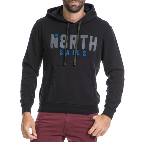 547c1b464869 Ανδρική μπλούζα φούτερ NORTH SAILS μαύρη (1589204.0-0071)