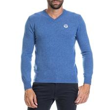 NORTH SAILS-Ανδρική μπλούζα LAURENT NORTH SAILS μπλε
