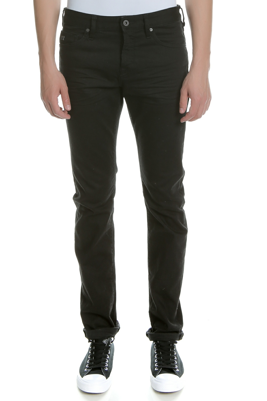 SCOTCH & SODA - Ανδρικό τζιν παντελόνι RALSTON - STAY BLACK SCOTCH & SODA μαύρο ανδρικά ρούχα τζίν straight