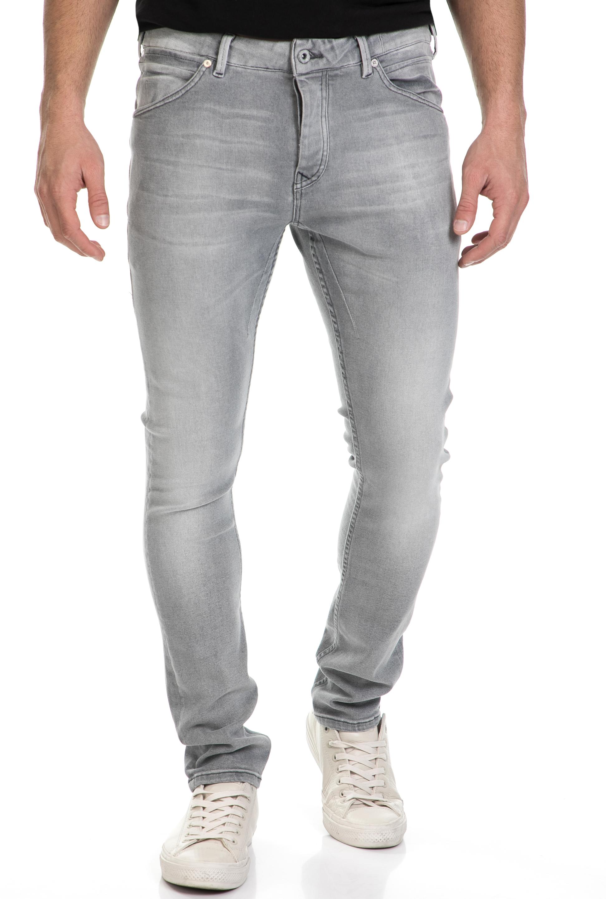 SCOTCH & SODA - Ανδρικό τζιν παντελόνι PHAIDON - CUT AND RUN SCOTCH & SODA γκρι ανδρικά ρούχα τζίν skinny