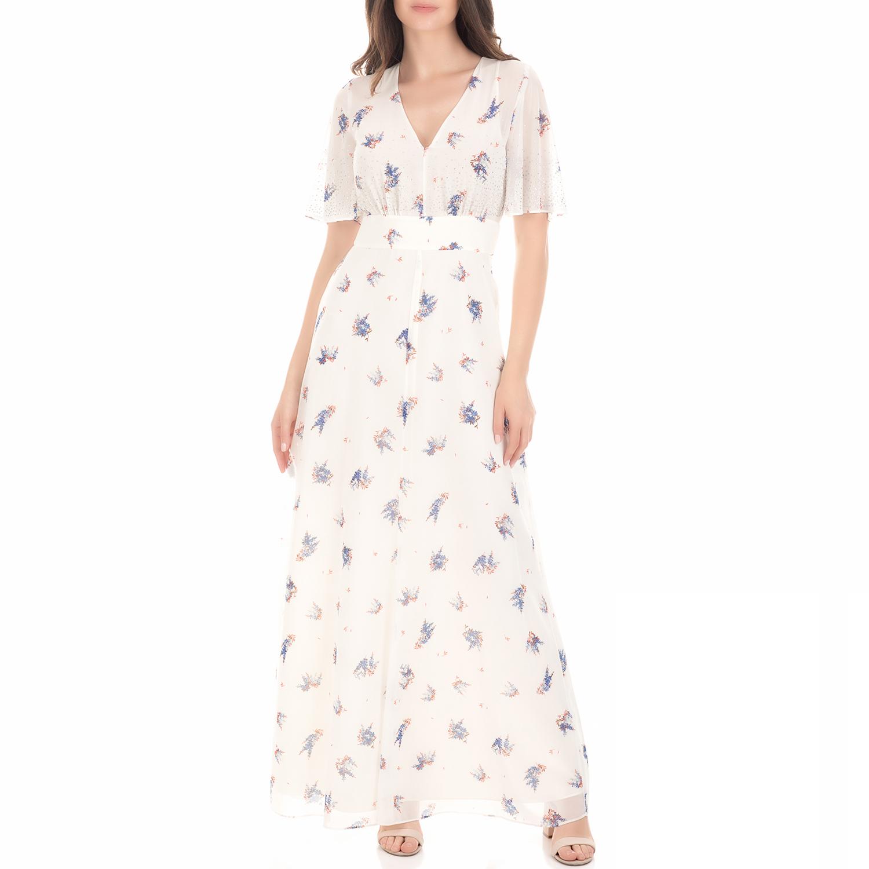 d797df787dc JUICY COUTURE - Γυναικείο μάξι φόρεμα DRIFTING WILDFLOWERS εκρού