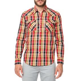 64ac1da7cf7d LEVI S. Ανδρικό μακρυμάνικο πουκάμισο Levi s BARSTOW WESTERN καρό