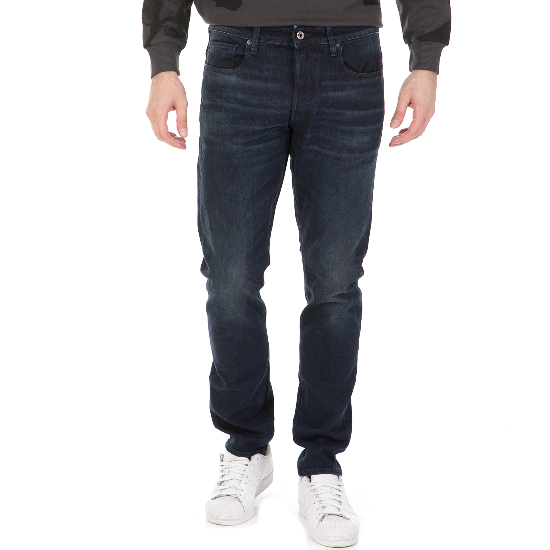 G-STAR RAW - Ανδρικό τζιν παντελόνι G-STAR RAW 3301 TAPERED σκούρο μπλε ανδρικά ρούχα τζίν straight
