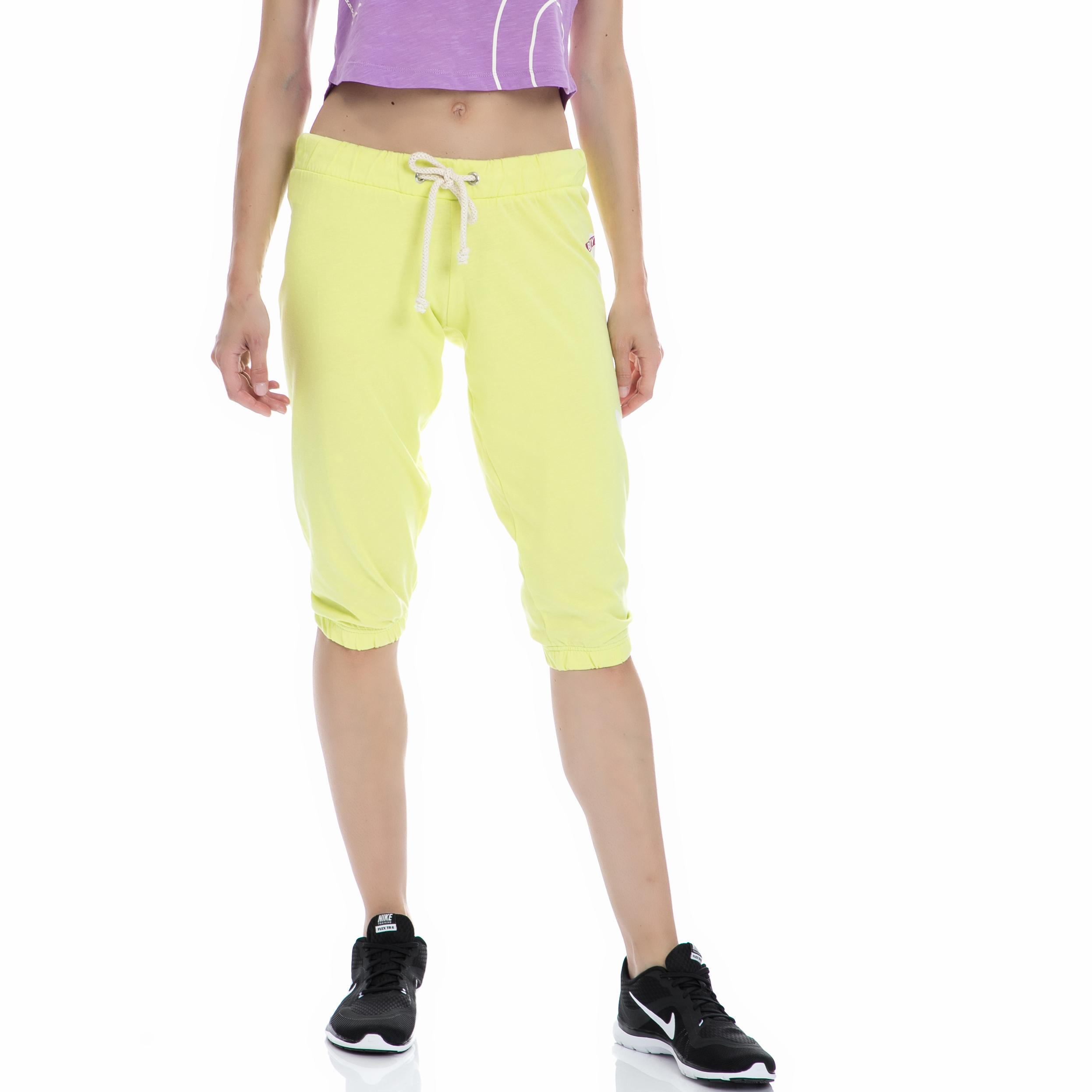 BODYTALK - Γυναικεία φόρμα BODYTALK πράσινη-κίτρινη γυναικεία ρούχα αθλητικά φόρμες